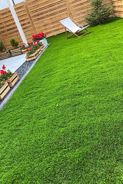 Искусственный декоративный газон